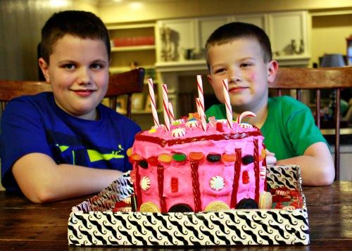 boys cake 1