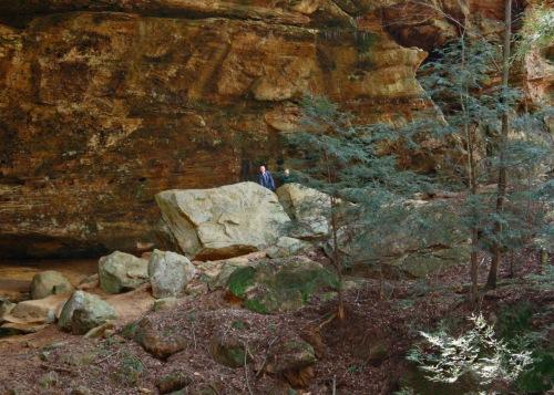 boys cave ash cave