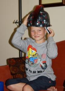 M 8th helmet